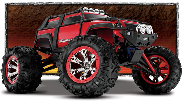 Traxxas Summit VXL 1/16 brushless monster truck RTR