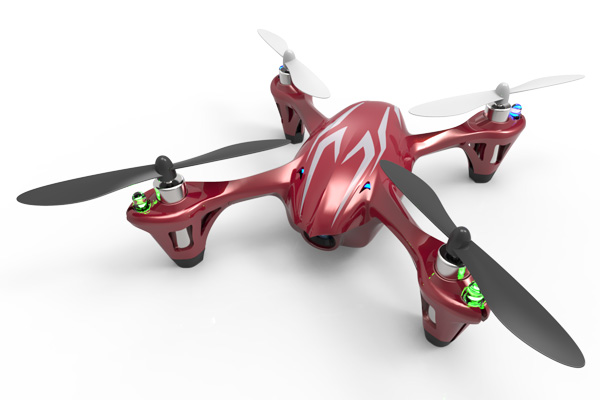 Hubsan X4 mini quadcopter met HD camera RTF - 2.4Ghz