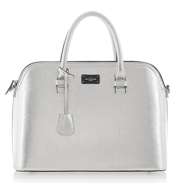 Paul's Boutique tas zilver